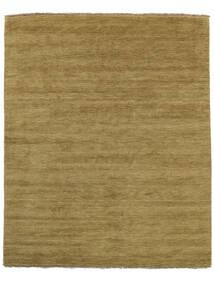 베틀 Fringes - 올리브 녹색 러그 200X250 모던 올리브 그린/브라운 (울, 인도)