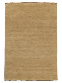 베틀 Fringes - Beige 러그 160X230 모던 다크 베이지/베이지 (울, 인도)