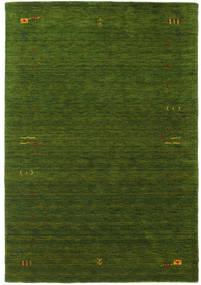 가베 Loom Frame - 녹색 러그 160X230 모던 다크 그린 (울, 인도)