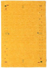 가베 Loom Frame - 노란색 러그 140X200 모던 옐로우/오렌지 (울, 인도)