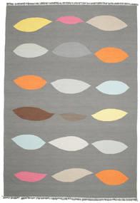 Leaves - 회색 러그 220X320 정품  모던 수제 다크 그레이/라이트 그레이 (울, 인도)
