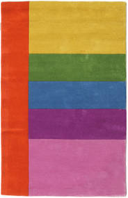 Colors By Meja Handtufted 러그 100X160 모던 핑크/러스트 레드 (울, 인도)