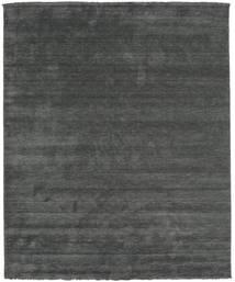 베틀 Fringes - 진한 회색 러그 250X300 모던 다크 그린/다크 그린 대형 (울, 인도)