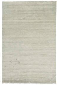 베틀 Fringes - 회색/연한 녹색 러그 200X300 모던 라이트 그레이/라이트 브라운 (울, 인도)