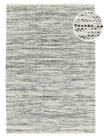 Hugo - 검정색/회색 러그 250X350 정품  모던 수제 라이트 그레이/다크 베이지 대형 ( 인도)