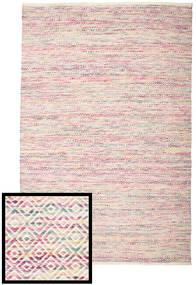 Hugo - Multi 핑크색 러그 200X300 정품  모던 수제 라이트 그레이/라이트 퍼플 ( 인도)