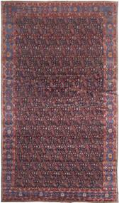세너 러그 368X639 정품  오리엔탈 수제 다크 브라운/퍼플 대형 (울, 페르시아/이란)
