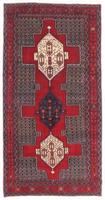 세너 파티나 러그 145X299 정품  오리엔탈 수제 다크 브라운/크림슨 레드 (울, 페르시아/이란)