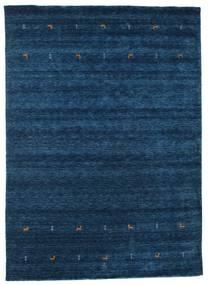 가베 Loom Two Lines - 어두운 파란색 러그 240X340 모던 다크 블루 (울, 인도)