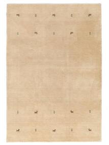 가베 Loom Two Lines - Beige 러그 160X230 모던 다크 베이지/라이트 브라운 (울, 인도)
