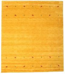 가베 Loom Two Lines - 노란색 러그 240X290 모던 옐로우/오렌지 (울, 인도)