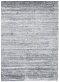 대나무 실크 Loom - Denim 파란색 러그 140X200 모던 라이트 블루/라이트 그레이 (울/대나무 실크, 인도)