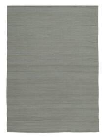 킬림 Loom - 회색 러그 200X300 정품  모던 수제 라이트 그레이 (울, 인도)