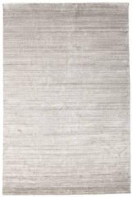 대나무 실크 Loom - Warm 회색 러그 200X300 모던 라이트 그레이 ( 인도)