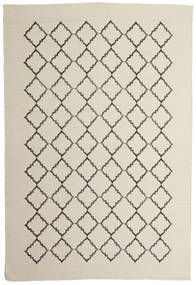 Marjorie - 황백색 러그 200X300 정품  모던 수제 다크 베이지/라이트 그레이/베이지 (울, 인도)