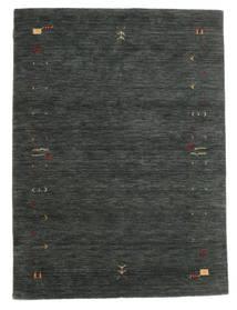 가베 Loom Frame - 진한 회색/녹색 러그 140X200 모던 다크 그린/다크 그린 (울, 인도)