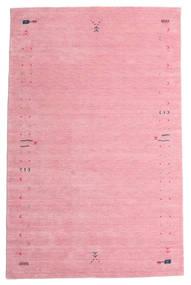 가베 Loom Frame - 핑크색 러그 190X290 모던 라이트 핑크/핑크 (울, 인도)