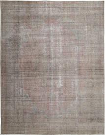 단색 빈티지 러그 290X376 정품  모던 수제 라이트 그레이/다크 그레이 대형 (울, 페르시아/이란)