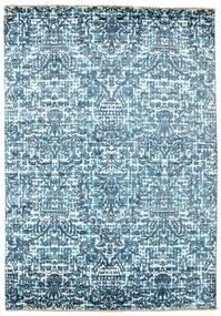 Damask 러그 170X244 정품  모던 수제 라이트 블루/블루 ( 인도)