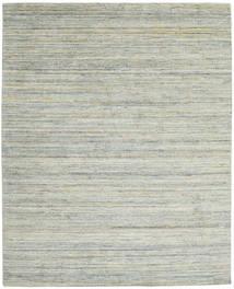 Mazic - Green_Grey 러그 240X300 모던 라이트 그레이/터코이즈 블루 (울, 인도)