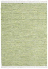 Diamond 울 - 녹색 러그 140X200 정품  모던 수제 라이트 그린 (울, 인도)