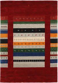 로리바프 Loom Designer 러그 160X230 모던 다크 레드/라이트 그레이 (울, 인도)