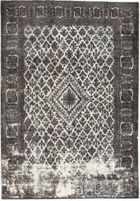 단색 빈티지 러그 215X310 정품  모던 수제 다크 그레이/라이트 그레이 (울, 페르시아/이란)