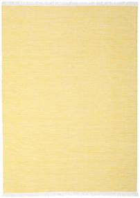 Diamond 울 - 노란색 러그 210X290 정품  모던 수제 옐로우/베이지 (울, 인도)
