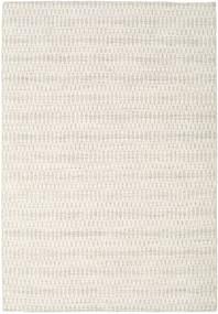 킬림 Long Stitch - Beige 러그 160X230 정품  모던 수제 라이트 그레이/베이지 (울, 인도)