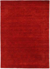 로리바프 Loom Beta - 빨간색 러그 140X200 모던 러스트 레드/다크 레드 (울, 인도)