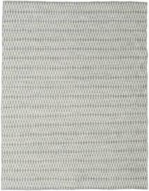 킬림 Long Stitch - 회색 러그 190X240 정품  모던 수제 라이트 그레이/베이지 (울, 인도)