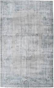 단색 빈티지 러그 185X303 정품  모던 수제 라이트 그레이/라이트 블루 (울, 터키)