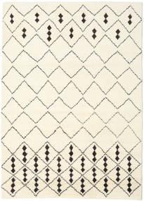 베르베르 인도 - Off-흰색/검정색 러그 210X290 정품  모던 수제 베이지/화이트/크림 (울, 인도)