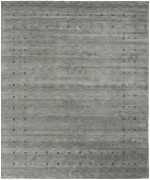 로리바프 Loom Delta - 회색 러그 240X290 모던 다크 그레이 (울, 인도)