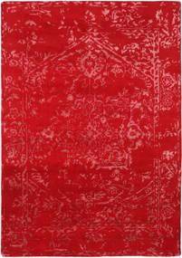 Orient Express - 빨간색 러그 160X230 정품  모던 수제 크림슨 레드 (울/대나무 실크, 인도)