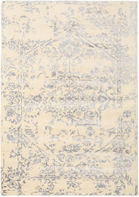 Orient Express - 흰색/회색 러그 160X230 정품  모던 수제 베이지/라이트 그레이 (울/대나무 실크, 인도)