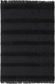 킬림 베르베르 Ibiza - 카본 블랙 러그 300X400 정품  모던 수제 블랙 대형 (울, 인도)