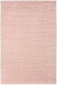 베틀 Fringes - 소프트 로즈 러그 300X400 모던 라이트 핑크/베이지 대형 (울, 인도)