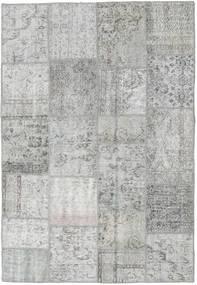 패치워크 러그 160X233 정품  모던 수제 라이트 그레이 (울, 터키)