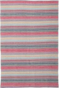Wilma - 핑크색 러그 220X320 정품  모던 수제 라이트 퍼플/라이트 핑크 (면화, 인도)