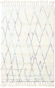 Rana - 천연/파란색 러그 120X180 정품  모던 수제 베이지/화이트/크림 (울, 인도)