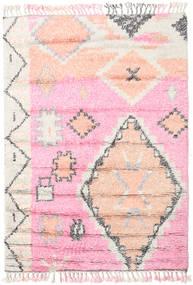 Odda - 핑크색 러그 160X230 정품  모던 수제 라이트 핑크/화이트/크림 (울, 인도)