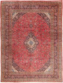 마슈하드 러그 295X390 정품 오리엔탈 수제 다크 레드/라이트 브라운 대형 (울, 페르시아/이란)