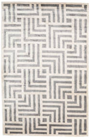 Maze 러그 200X300 정품  모던 수제 라이트 그레이/화이트/크림 ( 인도)