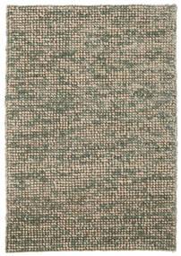 Manhattan - 녹색 러그 140X200 모던 라이트 그레이/올리브 그린/다크 그레이 ( 인도)