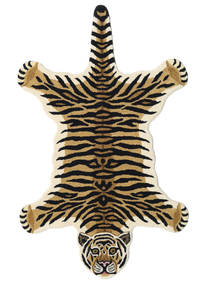 Tiger - Beige 러그 100X160 모던 다크 블루/라이트 브라운 (울, 인도)