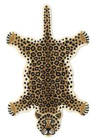 Leopard - Beige 러그 100X160 모던 베이지/블랙 (울, 인도)
