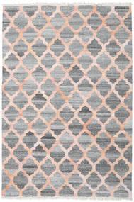 야외 카펫 Kathi - 회색/Coral 러그 200X300 정품  모던 수제 라이트 그레이/다크 그레이/라이트 핑크 ( 인도)