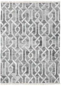 야외 카펫 Trinny - 진한 회색/회색 러그 170X240 정품  모던 수제 라이트 그레이/화이트/크림 ( 인도)