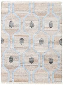 야외 카펫 Cosmou - 연한 파란색 러그 140X200 정품  모던 수제 라이트 그레이/베이지 ( 인도)